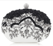 FZHLYHandmade Beaded Evening Bag Ladies Clutch