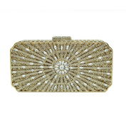 FZHLY Europe And The United States Luxury Crystal Bag Full Rhinestones Clutch Bag