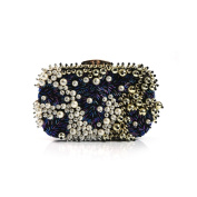 FZHLY Fashion Diamond Dinner Bag Hand-sewn Evening Bag