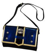 Lili Petrol - Brighton clutch bag