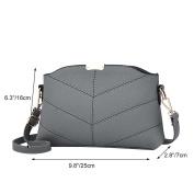 Vbiger Stylish Messenger Bag PU Leather Shoulder Bag Mini Crossbody Bag for Women