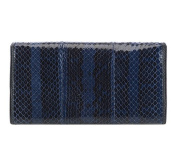 WITTCHEN Classic Trendy Wallet, Colour navy blue, collection Snake