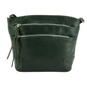 """ARIANNA"" Shoulder bag in soft calfskin leather -6119"
