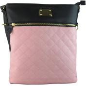 Xardi London Medium Ladies Cross Body Shoulder Bags Quilted Women Leather Style Handbags New