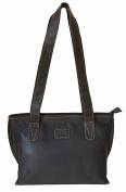 Rowallan Women's Brown Leather Shoulder Bag