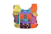 Ladies Hippie style multicoloured long shoulder bag-BAGS0001S