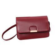 Yuan Simple Design Leather Handbag Casual Bag Cross Body Bags