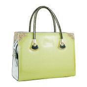 WU ZHI Lady Messenger Bag Patent Leather Handbag Shoulder Bag Handbag