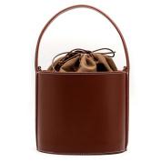 Women's Drawstring Bucket Bag Handbag Shoulder Bag