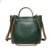 Single shoulder bag female new female bag bucket bag tide Korean version of the simple and versatile oblique bag package bag single shoulder bag large bag, Green