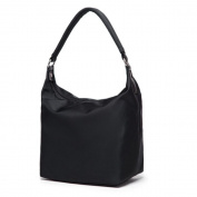 The new nylon anti-splashing water, the package bag single shoulder bag package bag female bag, Black