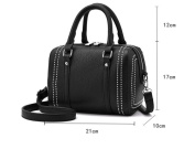 Single shoulder bag female Korean version of the small package style tide mini bag leisure bag with a small party package the new Girl Pack Black, Black