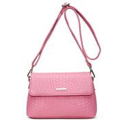 Pressure pattern female package kraft single shoulder bag diagonal package tide, pack, Pink
