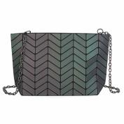 Female Bag Folded Geometric Chain Fashion Shoulder Bag,Style4