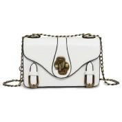 Handbags Retro Personality Small Square Lock Bag Fashion Chain Shoulder Messenger Bag