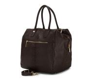 Wittchen Women's Top-Handle Bag large, Dark Brown (Brown) - 82-4E-417-4