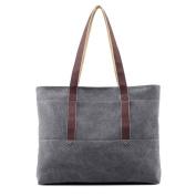 Women'S canvas bag,Shoulder bags Commuter handbag Top-Handle bags Hobo bags for women-A