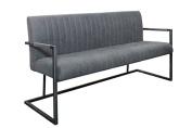 Casa Padrino Designer Bench Grey Width 160 cm, height 87 cm