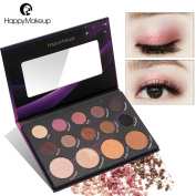 Kxnet 14 Colour Pearl Glitter Eye Shadow Powder Palette Matt Eyeshadow Cosmetic Makeup