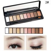 10 Colours Women Eye Shadow Palette Eyeshadows Makeup Palette Beauty Accessories