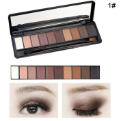 10 Colours Women Eye Shadow Palette Eyeshadows Makeup Palette Beauty Accessories