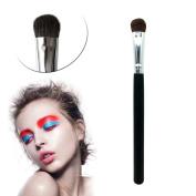 Domybest Black Horsehair Eyeshadow Brush Portable Cosmetic Beauty Tool