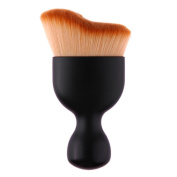 Domybest Makeup Brush S Shape Cosmetic Wine Glass Base Beauty Makeup Tools Brush