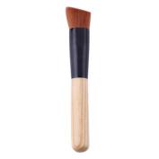 Domybest Single Pro Bamboo Handle Makeup Brush Foundation Brush Beauty Cosmetic Tool