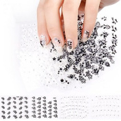 24 pcs Nail Sticker Decal Flower of Design of the Manicure Decoration Tool Accessories Gift