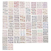 Domybest 50Pcs DIY nail stickers watermark