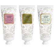 Tocca Beauty Crema Veloce Hand Cream Trio Set