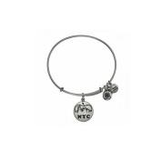 Alex and Ani NYC Skyline Charm Bangle Bracelet - A12EB112RS