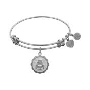 Angelica Brass Wedding Day Bangle Bracelet 18cm Adjustable