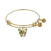 Angelica Brass Granddaughter Bangle Bracelet 18cm Adjust