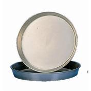 Stalwart S475 Iron Pizza Pan, 3.8cm Deep, 30cm Diameter, Black