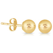 Marquee Jewels 10k Yellow Gold 4-millimetre Ball Stud Earrings