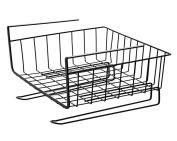 kitchen Creative cupboard Hanging basket Rack metal Storage shelf wardrobe Under the desk