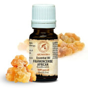 Frankincense Essential Oil 10 ml 100 % pure and natural, Essential oils African Frankincense use for Tension Relief, Good Mood, Relax, Freshen Rooms, Home Fragrances, Best for Beauty, Wellness, Aromatherapy, Massage, SPA, Bath, Personal Care, Diffuser, ..