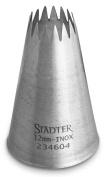 Staedter Fine Star Tip, Silver, 12 mm