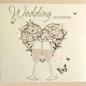 36 Wedding Invitations - Cards and envelopes - DP275