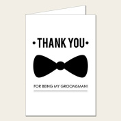 Personalised Wedding Party Card - Groomsman Thank You Card 2