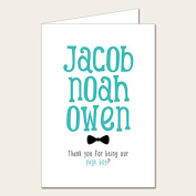 Personalised Wedding Party Card - Page Boy Thank You Card 1