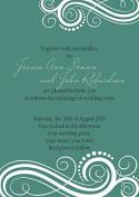 10 x Personalised Wedding Invitations