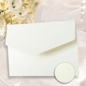 A6 Pocketfold Invites White Hammered Textured Card Pocketfold Invitations Inc Envelopes