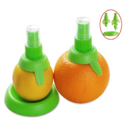 Affe 2 Pcs/set Creative Lemon Sprayer Fruit Juice Citrus Lime Juicer Spritzer Kitchen Gadgets