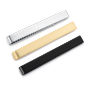 Honey Bear Mens Tie Clip Bar - Normal Size Stainless Steel For Business Wedding Gift,5.4cm