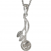 """Cairn 544 Silver Rennie . Pendant - """"Willow"""". Tarnish Resistant. British Made. Rennie . Jewellery."""