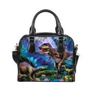 DongMen Shoulder Leather Travel Bag Custom Personality Design Large Capacity Lightweight Handbag