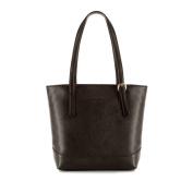 White Rattan 11x56 Brown Leather Ladies Shopper Women's Handbag, Genuine Leather, Handmade, 83/4E/495/4