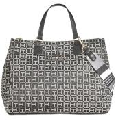 Tommy Hilfiger Pauletta Medium Monogram Tote Ladies Handbag 6938520 003
